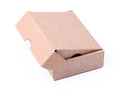 Carton box on a white background Royalty Free Stock Image