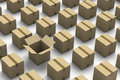 Carton Boxes Royalty Free Stock Images