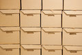 Cartons. Stock Image