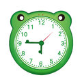 Cartoon alarm clock Stock Photography