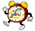 Cartoon alarm clock Royalty Free Stock Photos