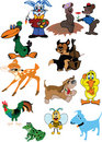 Cartoon animal Royalty Free Stock Images