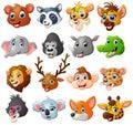 Cartoon Animal Head Collection...
