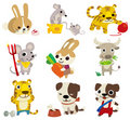 Cartoon animal  icon Royalty Free Stock Photography