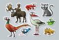 Návrh maľby zvieratá