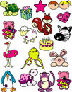 Cartoon animals vector Stock Photography
