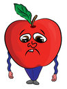 Cartoon Apple Illustration