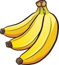 Cartoon bananas