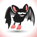 Cartoon Bat Royalty Free Stock Photo