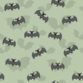 Cartoon Bats Seamless Stock Photo