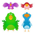 Cartoon Birds Royalty Free Stock Photo