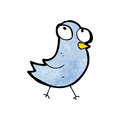 Cartoon bluebird Royalty Free Stock Image