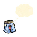 Cartoon boxer shorts Stock Image