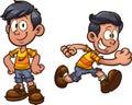 Cartoon boy Royalty Free Stock Photo