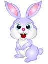 Cartoon Bunny Rabbit Vector Illustration Royalty Free Stock Photo