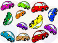Cartoon car Royalty Free Stock Images
