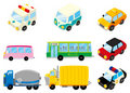 Cartoon car icon Stock Image