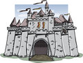 Cartoon Castle Royalty Free Stock Photography