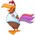 Cartoon Character Chicken Royalty Free Stock Photography