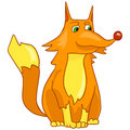 Cartoon Character Fox Stock Photography