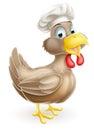 Cartoon Chicken Cook