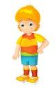 Cartoon Child - Activity - Ill...