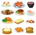 Návrh malby čínština jídlo ikona
