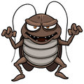 Cartoon cockroach vector illustration of Stock Photos