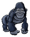 Cartoon Cute Gorilla Royalty Free Stock Photo