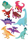 Cartoon Dinosaur icon Royalty Free Stock Photography