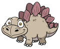 Cartoon dinosaur vector illustration of Royalty Free Stock Photography