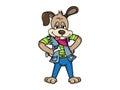 Cartoon Dog Illustration