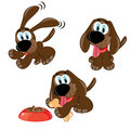 Cartoon dogs Royalty Free Stock Photos