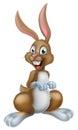 Cartoon Easter Bunny Royalty Free Stock Photo