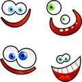 Cartoon Faces Stock Images