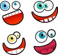 Cartoon Faces Royalty Free Stock Photos