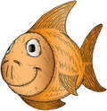 Cartoon fish Stock Images
