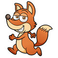 Cartoon fox vector illustration of Royalty Free Stock Photo