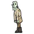 Cartoon frankenstein's monster Stock Photos