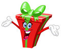 Cartoon gift Stock Image