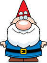 Cartoon gnome smiling a happy standing and Royalty Free Stock Photos