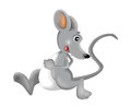 Cartoon Happy And Funny Mouse ...