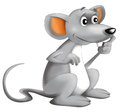 Cartoon Happy Mouse -