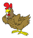 Cartoon Hen