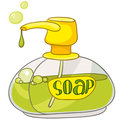 Cartoon Home Washroom Soap Stock Photo