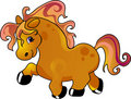 Cartoon horse Stock Photo