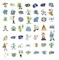 Cartoon icon collection #06 Royalty Free Stock Image