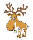 Cartoon image of reindeer
