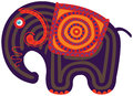 Cartoon Indian Elephant Royalty Free Stock Photo