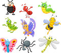 Cartoon insect Royalty Free Stock Photo